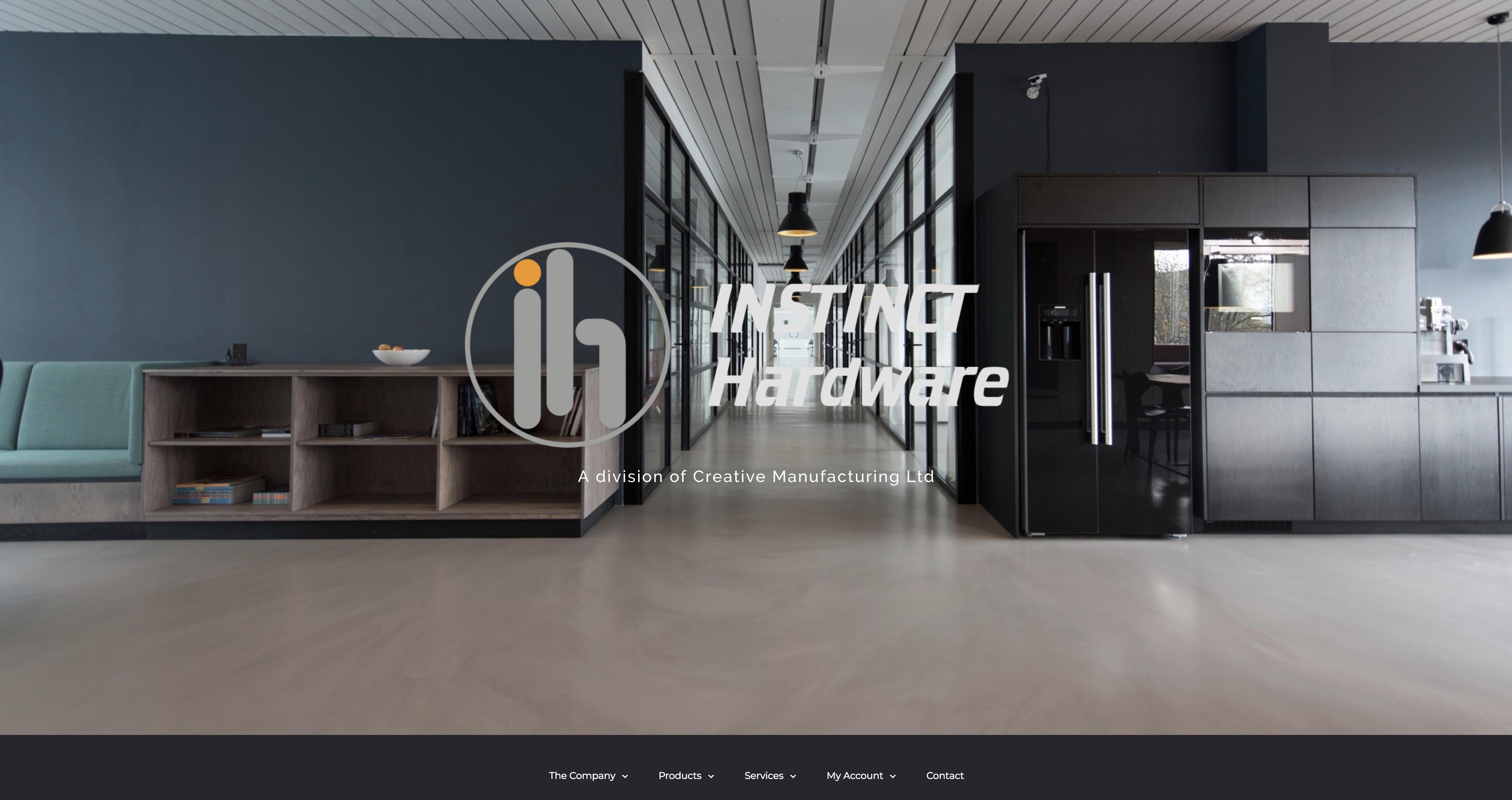 instinct homepage