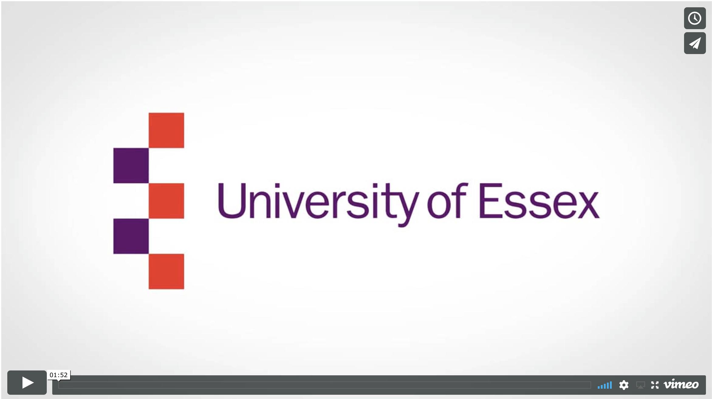 Essex University Promo