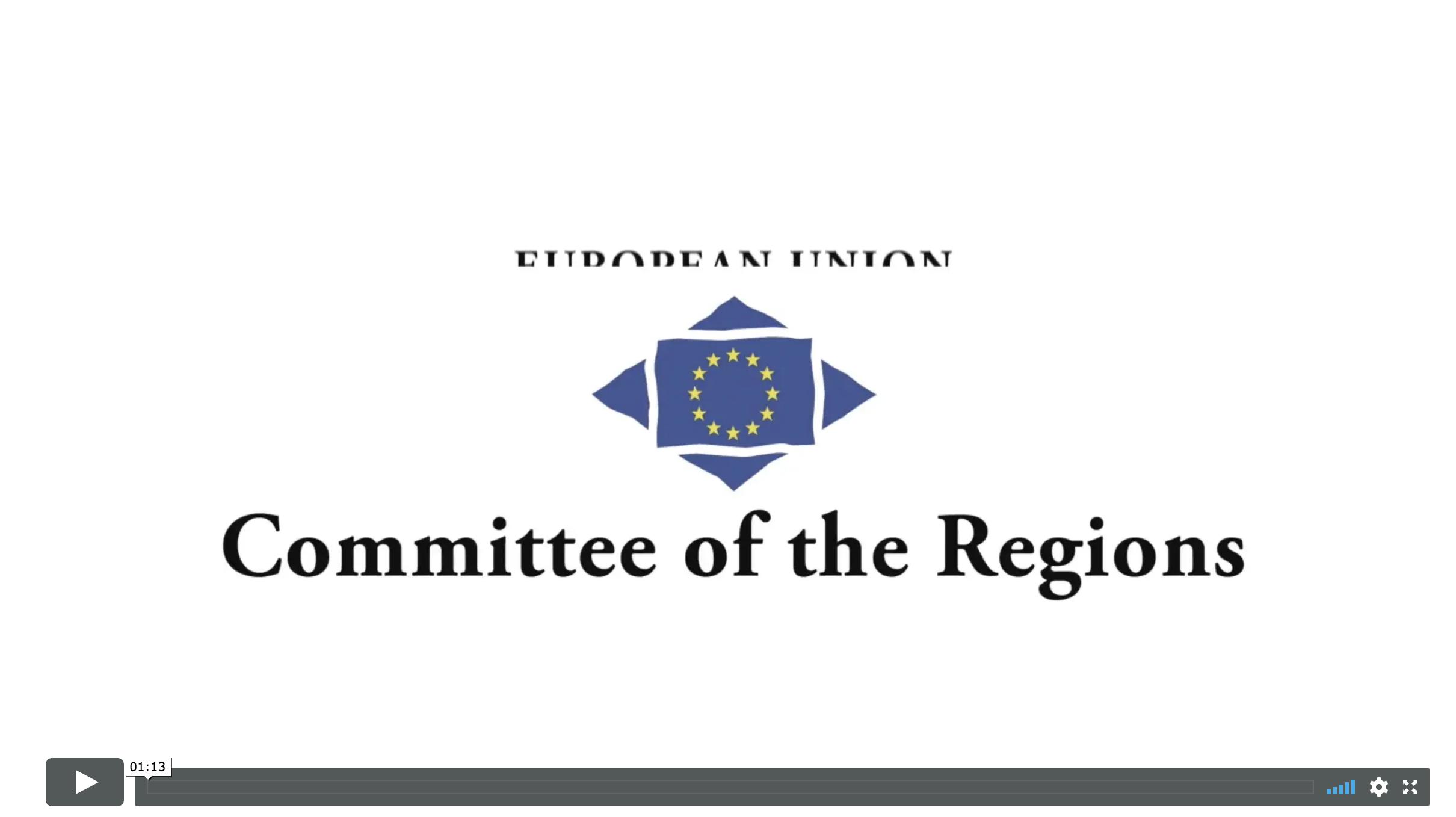 Committee Of Regions – Cities