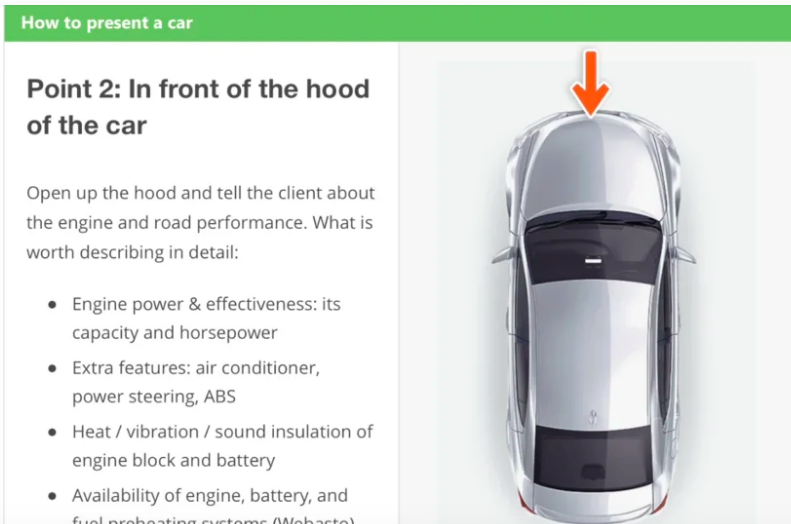 How To Present A Car – Interactive learning